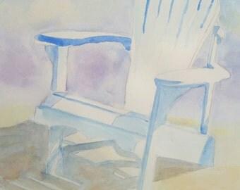 Beach Chair - Print