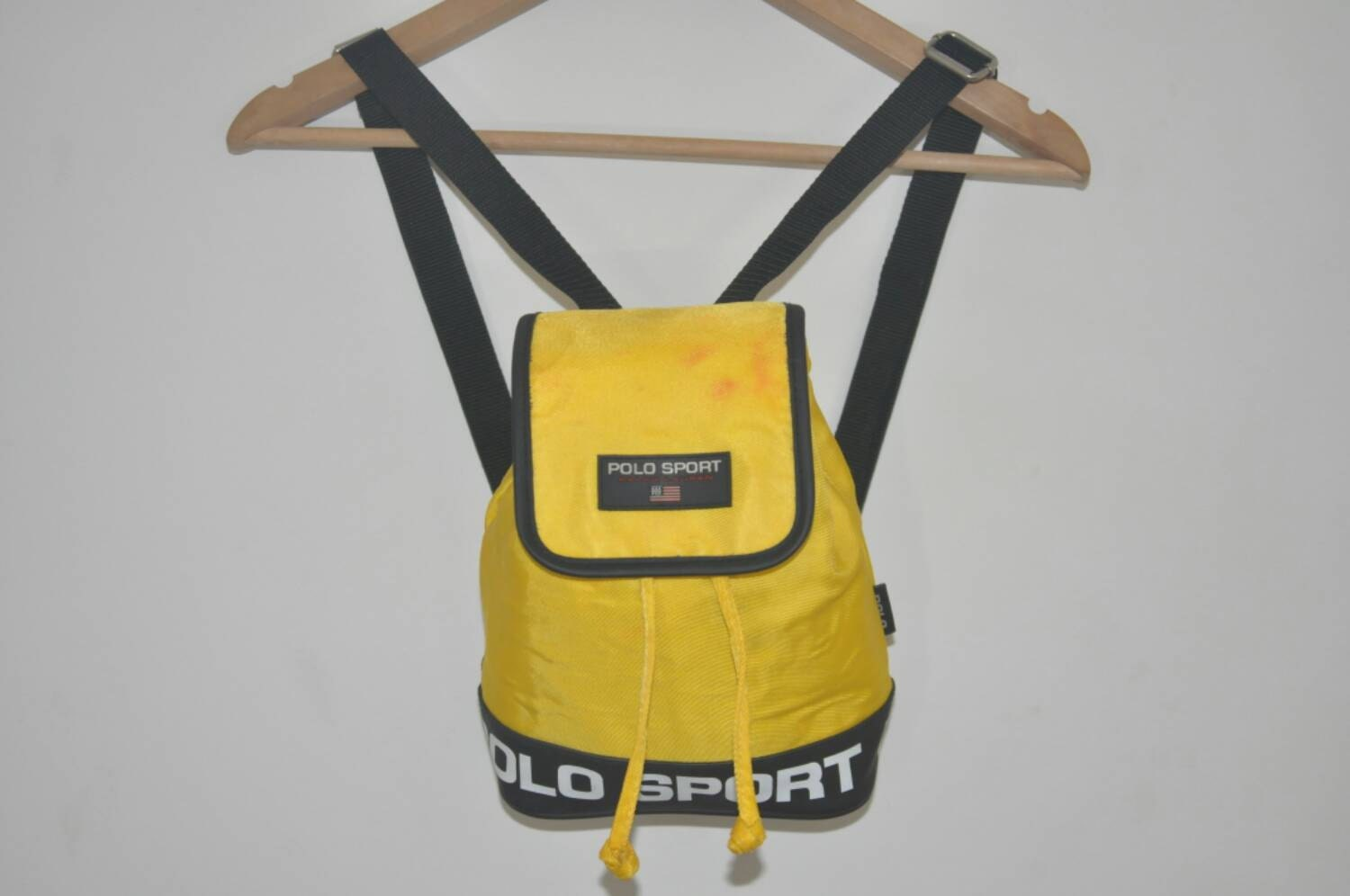 Vintage Ralph Lauren polo sport mini backpack