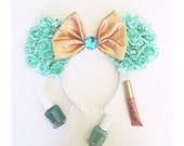 Jasmine Floral inspired mouse ears