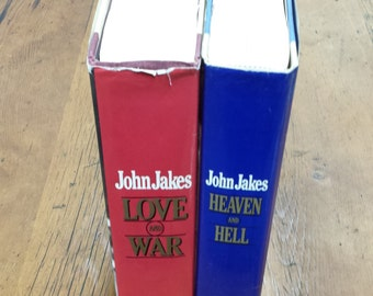 John Jakes: Heaven and Hell, Love and War, historical fiction book set