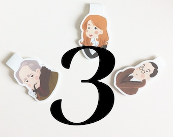 Your Own Set of 3 Bookmarks
