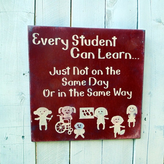 Special Education Classroom Decoration : Every student can learn end of year beginning