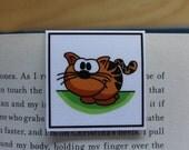Magnetic Bookmark: Albert, the Cat