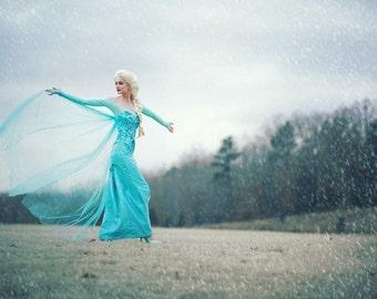 Queen Elsa costume for adults, disney cosplay, Elsa corset,elsa costume woman,Elsa cosplay, couture costume, halloween costume