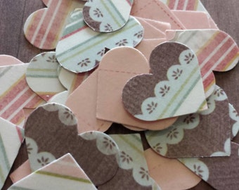 So cute heart confetti
