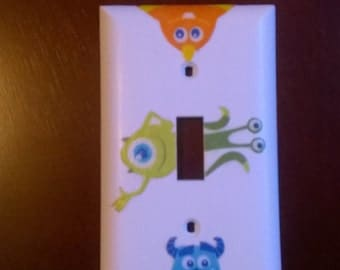 Monsters inc lightswitch cover