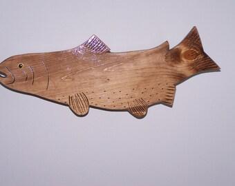 Wall mounted fish