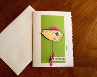 Birthday card, blank card