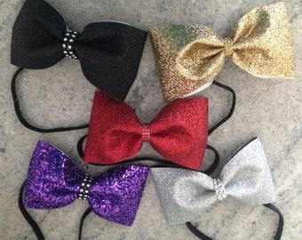 Glitter Headband Bows