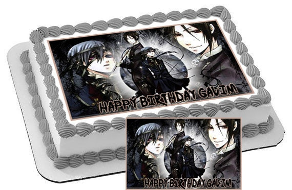 Naruto Japanese Anime Black Butler Edible by ...