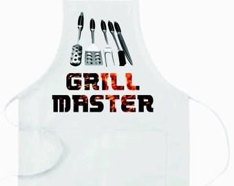 Custom Grill Master Apron