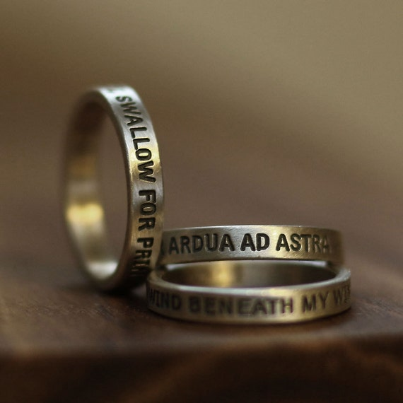 word ring ring name ring message ring promise by