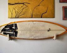 wood surf board rack