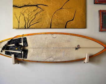 wood surf board rack