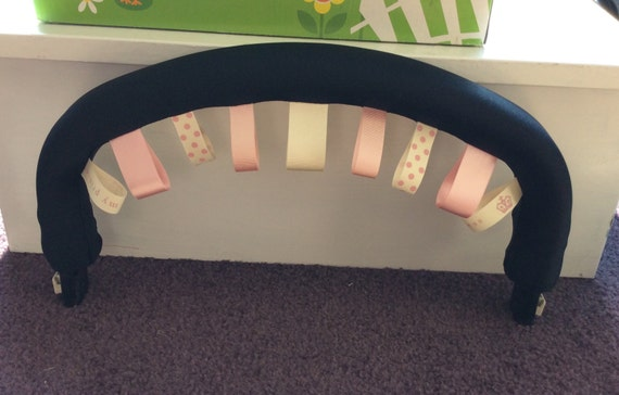 Taggy Bumper bar cover to fit Bugaboo Cameleon 1/2/3 Frog Donkey Buffalo and iCandy peach