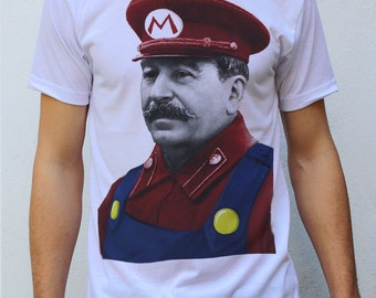 Stalin - Mario T Shirt Design