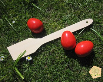 Wooden spatula, large