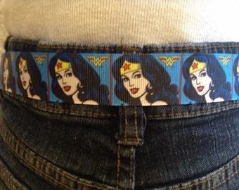 Wonder Woman velcro belts