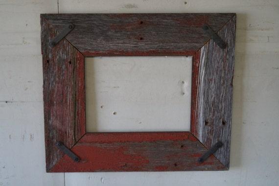 10 x 14 handmade barn wood frame by logiq on etsy. Black Bedroom Furniture Sets. Home Design Ideas