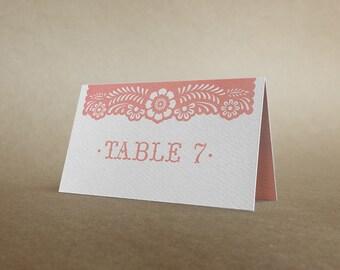 Papel Picado Place Card - Papel Picado Suite -