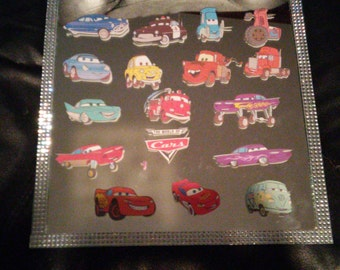 Cars toppers, cake pop toppers, cupcake toppers cut and ready to use 24 pieces