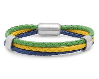 Custom Made Nationality Bracelets