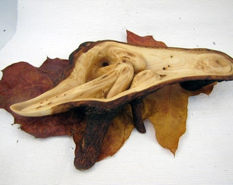 wood sculpture European spruce