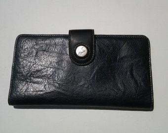 Mouflon faux leather wallet / Oversized wallet