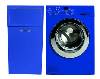 """Mobile laundry """" BLUE"""" for customizable color and size"""