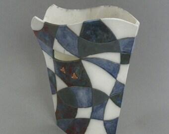 Ceramic Raku Vase #1