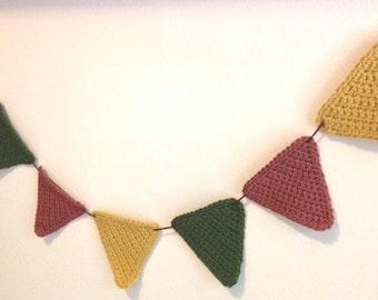 Colorful Crochet Banner