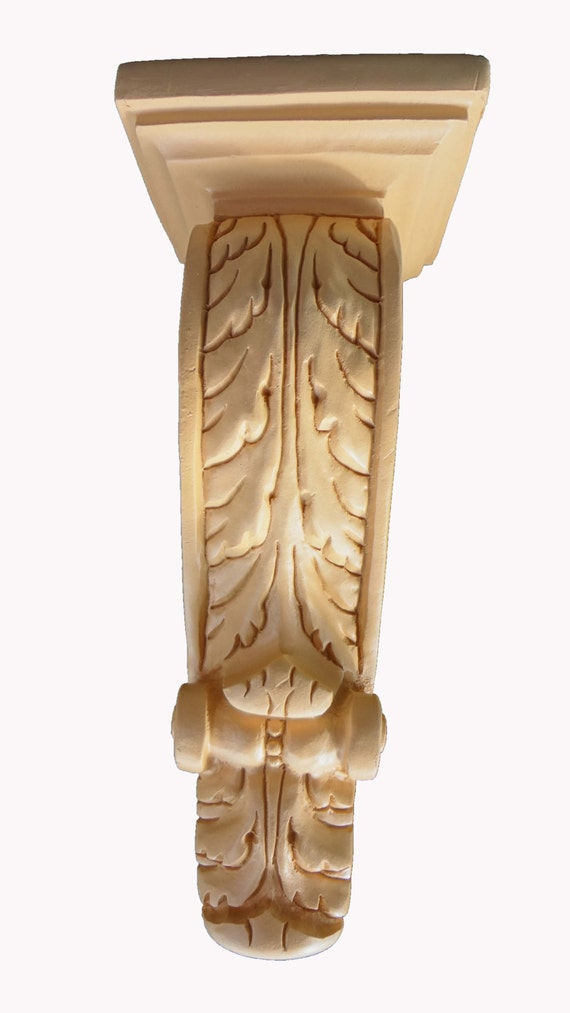 Decorative Corbel One Pair Of Large Acanthus Leaf Corbels
