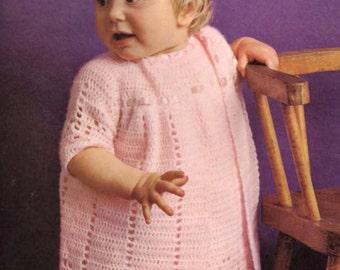 Nice crochet dress and Jacket Pattern  PDF- very fine shawl