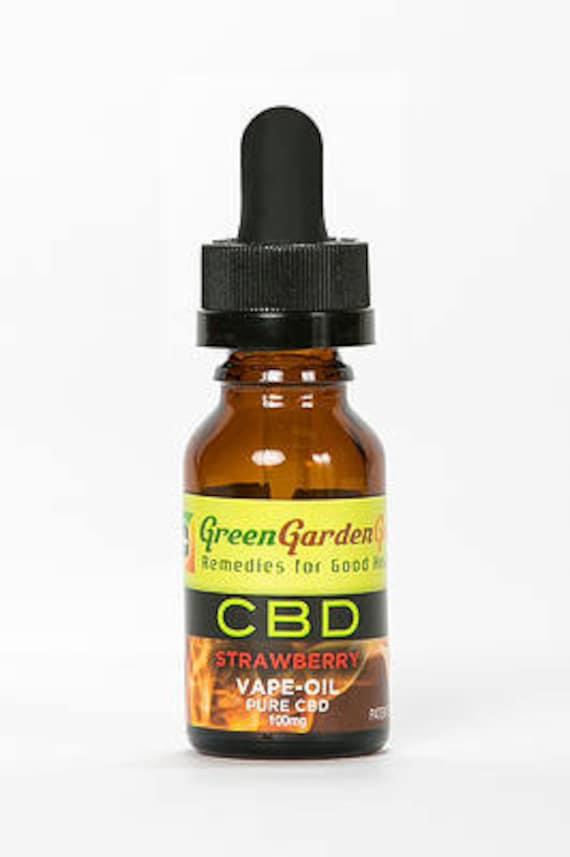 Cbd Oil By Green Garden Gold 15ml 100mg Cbd Hemp By Naturecare4u