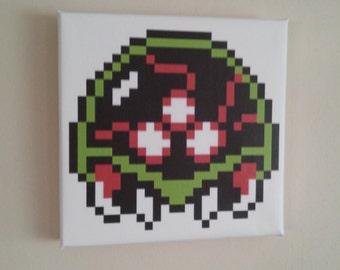 NES 8bit canvas Metroid
