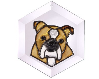 English Bulldog Sun Catcher