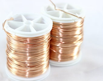 Artistic Copper 28 Gauge (0.3 mm) 155 Feet 48 meters, Craft Wire, Jewelry wire, 155 Feet Artisan Wire Wrap