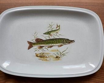 Fish plate platter Winterling, Germany