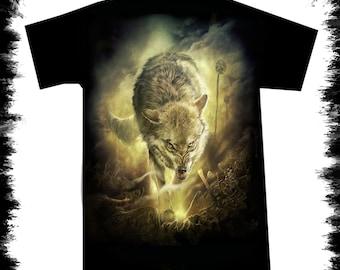 t shirt battle field wolf