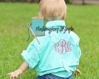 Personalized Fishing shirt or swim cover up for Toddlers and Kids