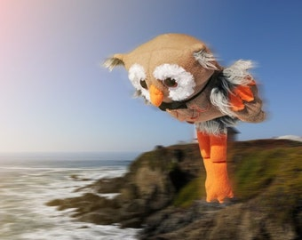 soft toy owl Gucci