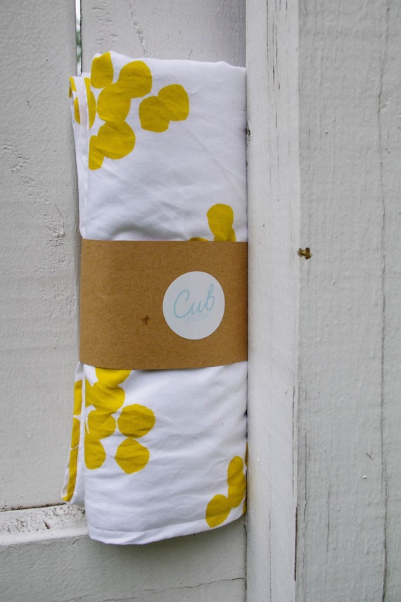 100% organic cotton baby blanket by CubClothCompany on Etsy