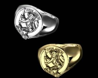 Clan Macduff Crest Men's Signet Ring