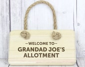 Welcome To... Personalised Wooden Sign - made in the UK