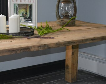 Rustic Farm Table, Dining Table, Kitchen Table, Reclaimed Wood Dining Table, Reclaimed Wood