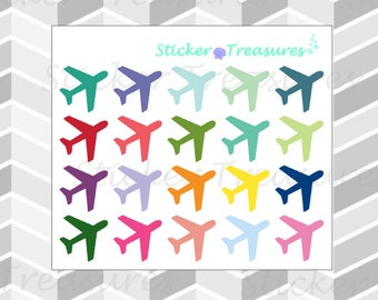 20 Airplane [Planner Stickers]