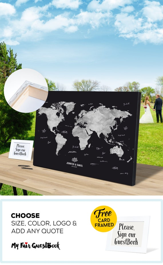Q And U Wedding Gift Ideas : ... Custom Guest Book Personalized wedding gift keepsake wedding ideas