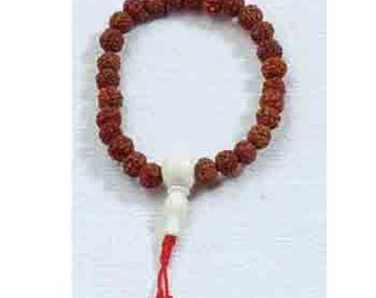 Rudraksha Handcrafted Fair Trade Prayer Bracelet