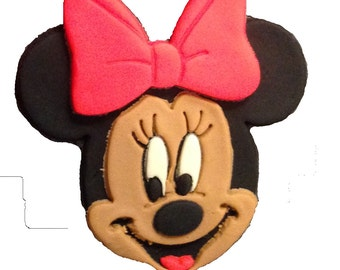 Minnie Mouse Face Cookie Cutter Set