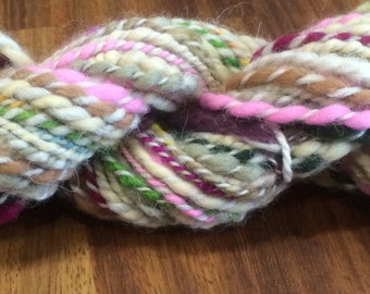 Mini Skein of Handspun Yarn